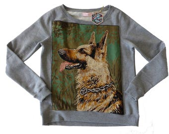German Shepherd - S - Collection canvas women's