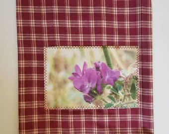 Decorative towels/kitchen towels/home decor/wildflower towels/hand towels/decorative towel/bathroom decor/Montana wildflowers/kitchen decor
