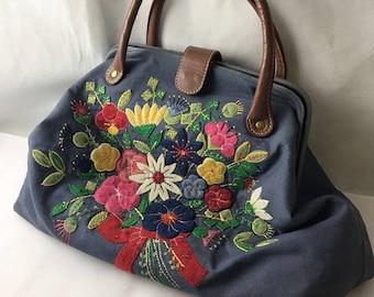 Vintage Cath Kidston Floral Bag