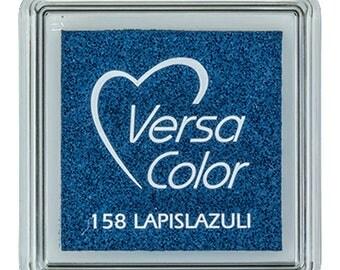 Dark blue ink pad, VersaColor ink pad, VersaColor lapislazuli, dark blue, craft supplies, ink pad for rubber stamps, water based ink pad