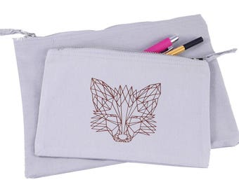 Pencil Case // Pouch // Cosmetic Bag // Makeup Bag