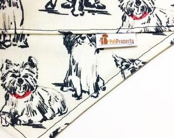 Over the Collar Pet Bandana - Dog Bandana - Cat Bandana - Bandana - Dogs