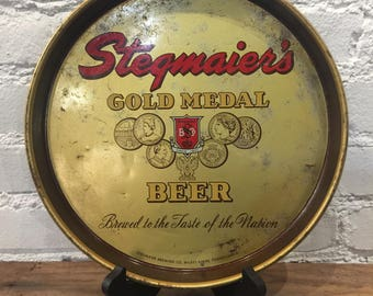 Stegmaier's Gold Medal Beer Tray