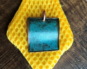 Copper Pendant, Waving # 79