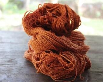Natural Slub Cotton Yarn - Fresh Orange 23