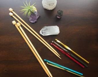 SALE | Assorted Needles Hooks | Aluminum & Bamboo