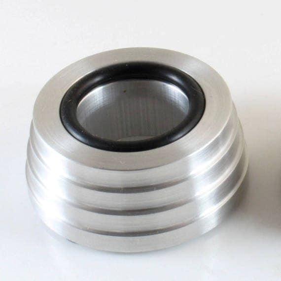 "Aluminum Sphere Stand, Stepped 2"", CJ-109"