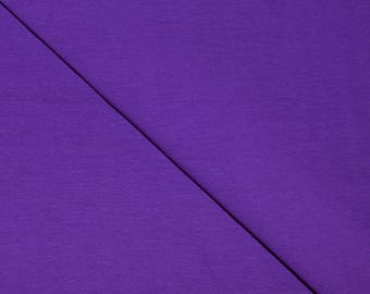 Purple solid Cotton spandex jersey (in multiples of 20cm) fabric