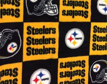Steelers NFL FLEECE Fabric [[by the half yard]]