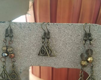 Deathly Hallows in bronze
