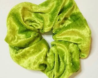 Velour Scrunchies