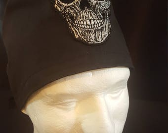 Facial Skull Tie Back Surgical Scrub Hat