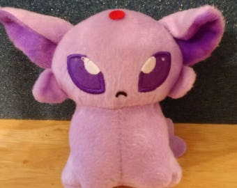 Pokemon Espeon plush 5 inch stuffed animal poke doll Pokemon center