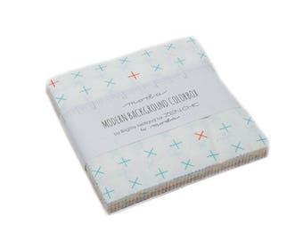 "Modern Background Colorbox - Zen Chic - Brigitte Heitland - Moda - Charm Pack - 5"" Squares - 1640PP"
