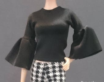 Tops for Barbie,Muse barbie,Tall barbie, FR, Silkstone -No. 0510