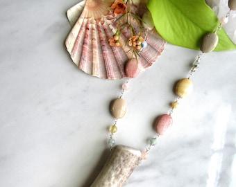 Antler Wand Necklace | Leaf&Luna