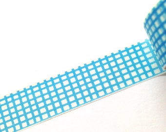 Blue and White Washi Tape, Washi Tape, Planner Washi Tape, Baby Shower Decorations, Scrapbooking, Paper Crafts