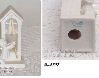 Goebel Vintage Angel Ringing Church Bell Figurine (Inventory #M2397)