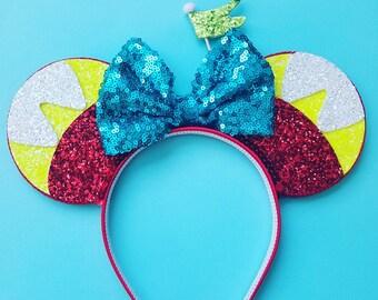 Tweedle Dee/ Dum | Alice in Wonderland Mouse Ears Headband | Mouse Ears | Alice | Headband Minnie Ears | Mouse Ears | Wonderland