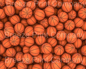 Basketball print craft  vinyl sheet - HTV or Adhesive Vinyl -  pattern vinyl sports ball printed vinyl HTV252