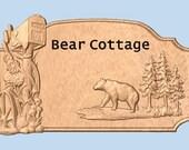 Bear Cottage Outdoor Addr...