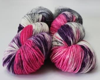 Drunken Love - Kettle Dyed - Cottage Comfort - Worsted Weight Superwash Merino Yarn