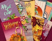 Dashboard B6 Slim, Travelers Notebook, Filofax, Daily Planner: Autumn Joys A