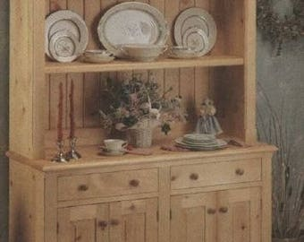 Country Hutch Woodworking Plans