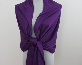 Wedding Scarf, Purple Pashmina Scarf, Bridesmaid Scarf, Bridesmaid Shawl Wrap, Wedding Wrap, Wedding Shawl, fall scarf, autumn scarf