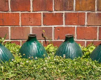 Green Xray Mercury Lamp Shades Antique Industrial Lighting