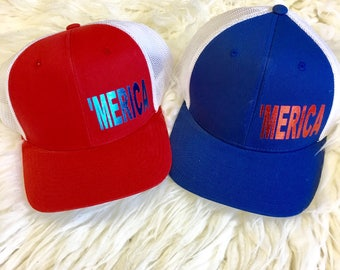 4th of July 'Merica Trucker Hat | 'Merica