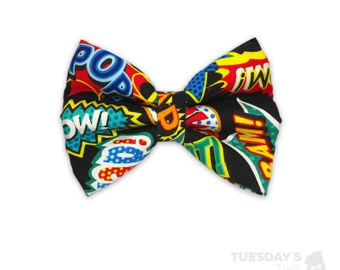 KaPOW Superhero Bow Tie