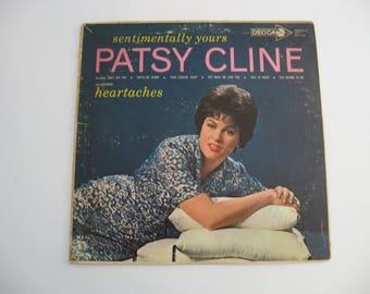 Patsy Cline - Sentimentally Yours - Circa 1962