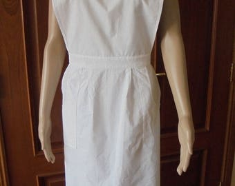 Nurses Maid's Apron - Lilly White - Christona Cloth - Original - WW1