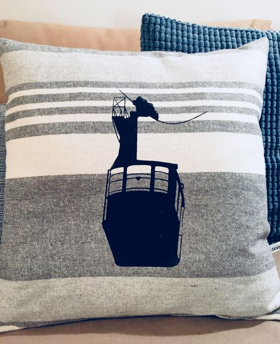 Cable car pillow