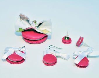 Pink macaroon set