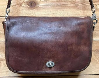 Vintage Coach Convertible Clutch Crossbody Vtg