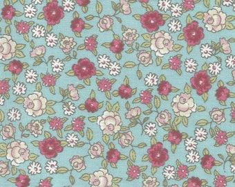 Floral background - coupon 50x50cm - celadon collection NIMUS