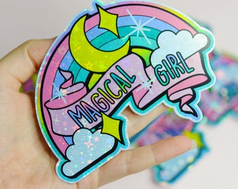 Magical Girl Holographic Sticker