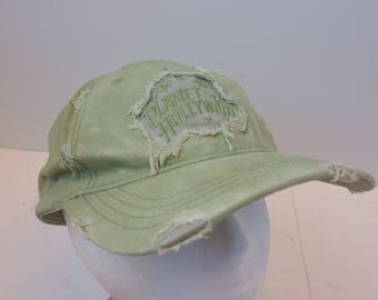 Planet Hollywood 90s hat cap distressed