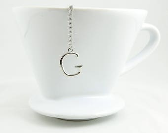 "Letter ""G"" Loose Tea Infuser Tea Strainer Mesh Loose Leaf Tea"