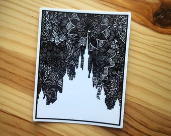 Zentangle - Castle