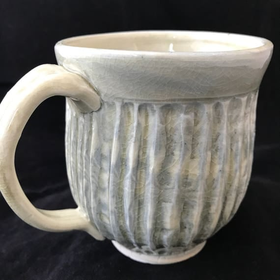 Ceramic Salt Fired Agateware Mug