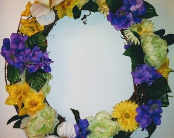 Primavera Spring Wreath