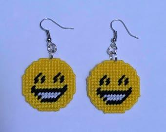 Happy Emoji Earrings