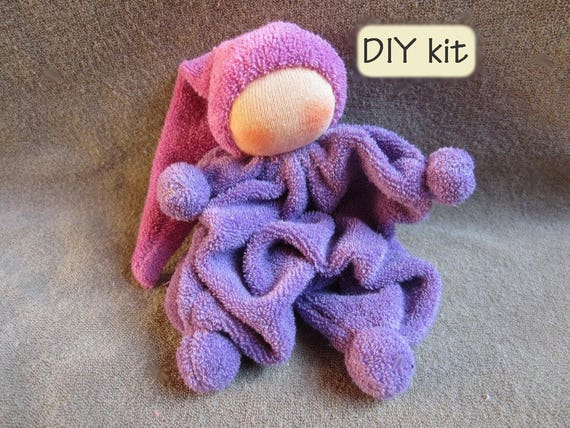 Do it yourself kit ukkie instructions with pattern pdf and do it yourself kit ukkie instructions with pattern pdf and materials you need to make waldorf rattling doll ukkie color lila from bibidolls on etsy solutioingenieria Images