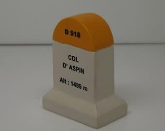 Col D'Aspin Km Marker Milestone Tour de France Mountains