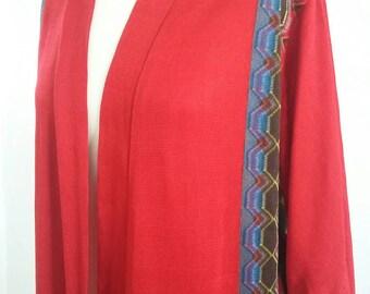 Vintage red robe