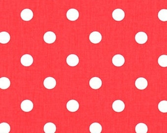 """Cute """"Polka Dot"""" Cotton Fabric 54"""" wide...........Drapery OR Upholstery........NEW"""