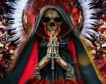 Ritual of protection/negativity and Black Magic/Holy Death/protective ritual and negativdad with the Holy Death